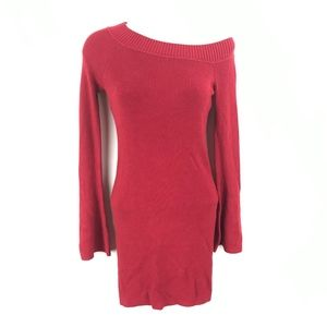 Lovers + friends off the shoulder sweater Dress